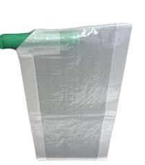 Embalagem plástica valvulada