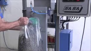 Saco plástico com válvula
