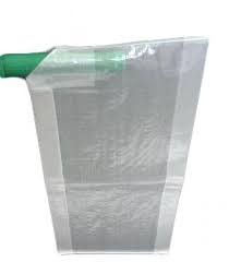 Saco valvulado de plastico